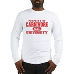 Carnivore U. Long Sleeve T-Shirt