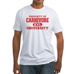 Carnivore U. Fitted T-Shirt