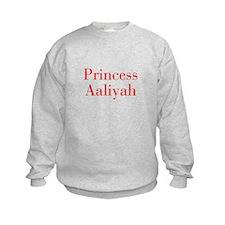 Princess Aaliyah-bod red Sweatshirt