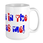 Someone in the USA Loves Me Large Mug