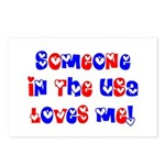 Someone in the USA Loves Me Postcards (Package of