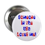 Someone in the USA Loves Me Button