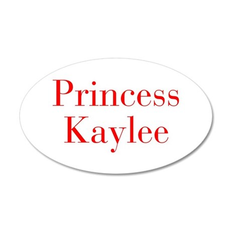 Princess Kaylee-bod red Wall Decal