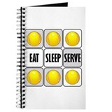 EAT, SLEEP, SERVE Journal