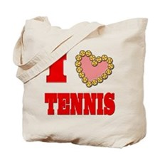 I Heart Tennis Tote Bag