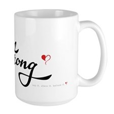 I Am Strong Lg. Coffee Mugs