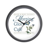 Morning Glory Cafe Wall Clock