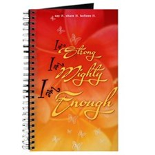 I Am Strong, Mighty, & Enough Journal