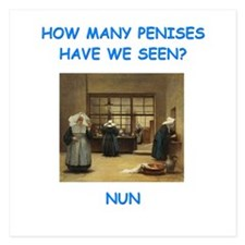 sick nun joke Invitations