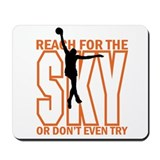 Basketball-Reach for the Sky Mousepad