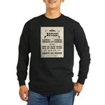 Smokers & Chewers Long Sleeve Dark T-Shirt