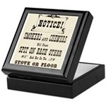 Smokers & Chewers Keepsake Box