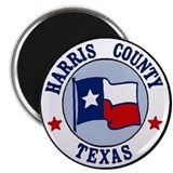 Harris County Texas Magnet