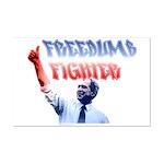 Freedumb Fighter Bush Mini Poster Print