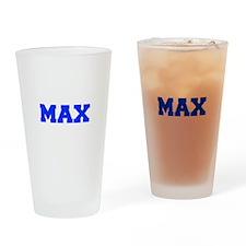 MAX-fresh blue Drinking Glass