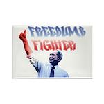 Freedumb Fighter Bush Rectangle Magnet
