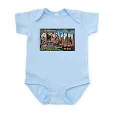 City Of Austin Postcard Infant Bodysuit