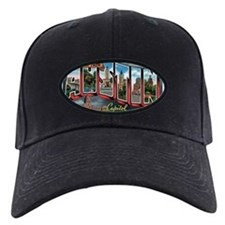City Of Austin Postcard Baseball Hat