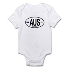 Australia Intl Oval Infant Bodysuit