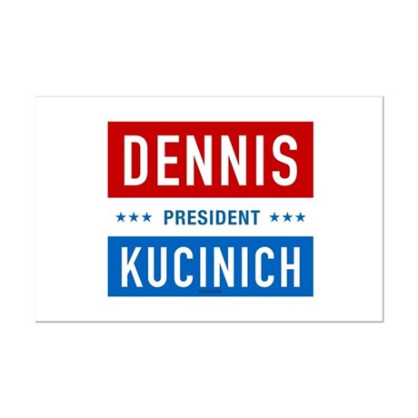 Kucinich for President Mini Poster Print