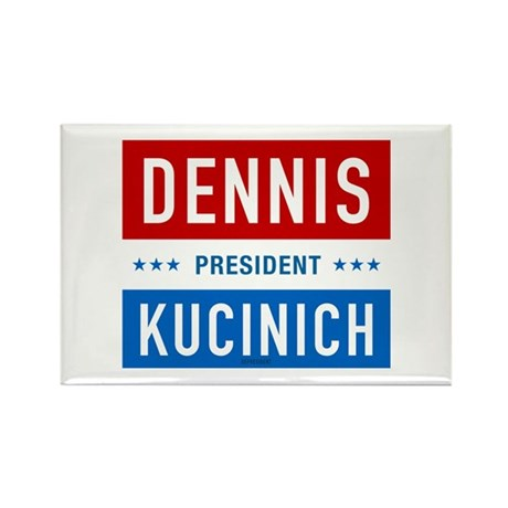 Kucinich for President Rectangle Magnet (10 pack)