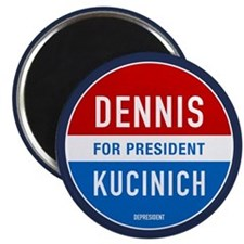"Kucinich for President 2.25"" Magnet (100 pack)"