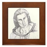Male Elf Framed Tile