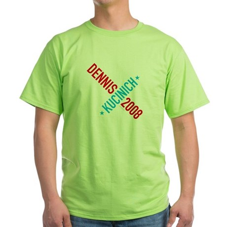 Twisted Kucinich 2008 Green T-Shirt