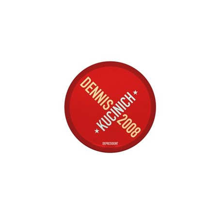 Twisted Kucinich 2008 Mini Button (10 pack)