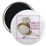 Domestic Flights Rock! Magnet