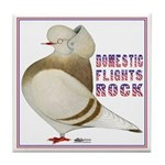 Domestic Flights Rock! Tile Coaster