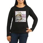 Domestic Flights Rock! Women's Long Sleeve Dark T-