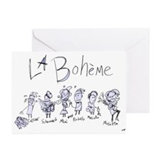 La Boheme: The Greeting Cards (Pk of 10)