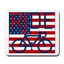 US FLAG RIDE Mousepad
