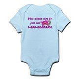 Call Grandma Funny Baby/toddler bodysuit