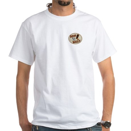 Boot 'N Rally White T-Shirt