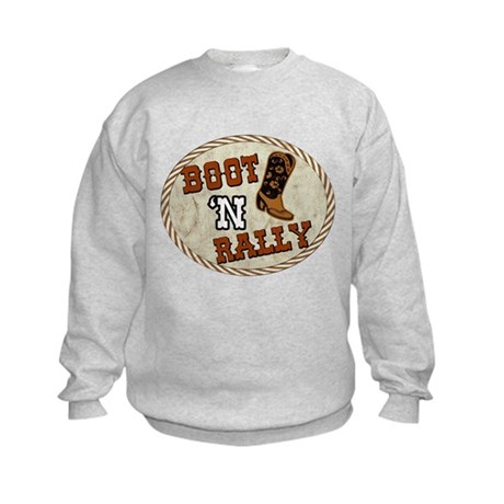 Boot 'N Rally Kids Sweatshirt