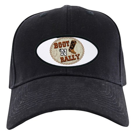 Boot 'N Rally Black Cap