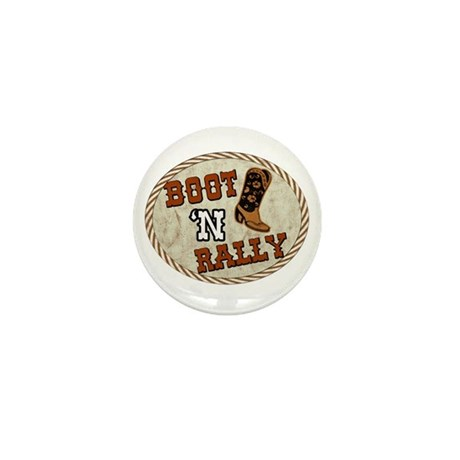 Boot 'N Rally Mini Button