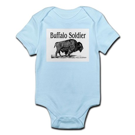 BUFFALO SOLDIER Infant Bodysuit