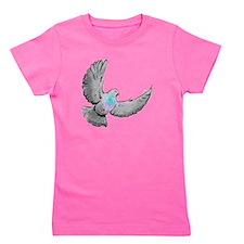 pigeon design Girl's Tee