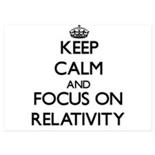Keep Calm and focus on Relativity Invitations
