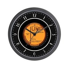 """Jump"" 78 Record Label Wall Clock"