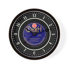 Okeh Records 78 Label Wall Clock