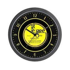 Dee Gee Milt Jackson 78 Label Wall Clock