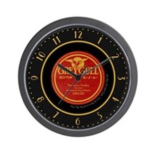 "Grey Gull ""Harlem's Araby"" 78 Label Wall Clock"