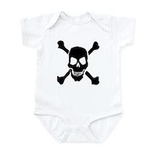 Evil Skull And Bones Infant Bodysuit