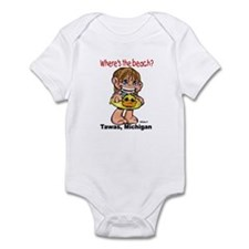 Tawas Beach Girl Onesie