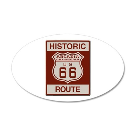 Arcadia Route 66 Wall Decal