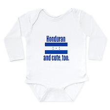 Cute Honduran heritage Long Sleeve Infant Bodysuit
